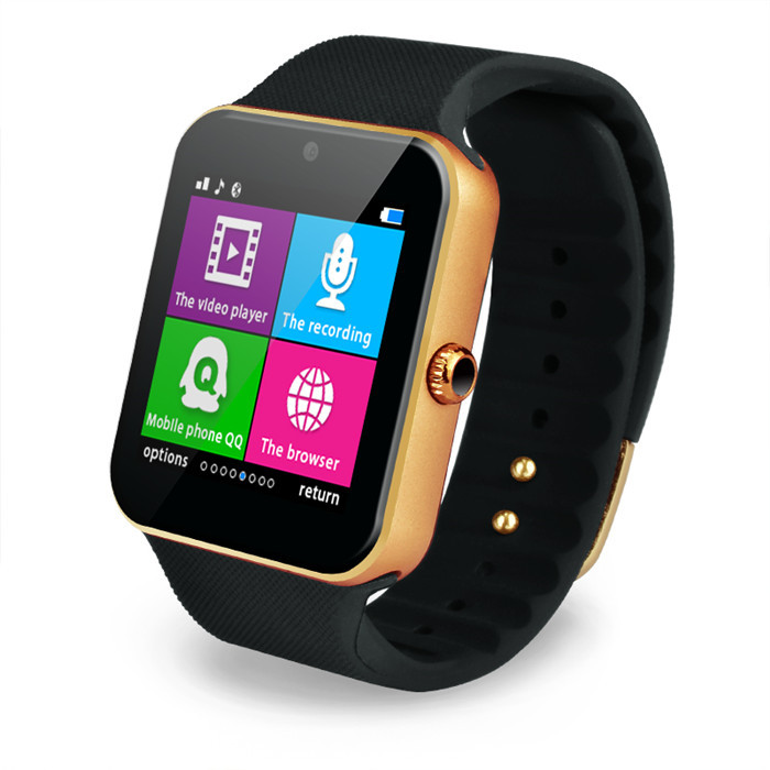 2015 New Hot Sale Smart Watch GT08+ For Andriod Mobile Phone Bluetooth Smartwatch Wearable Device Phone With SIM Card(China (Mainland))