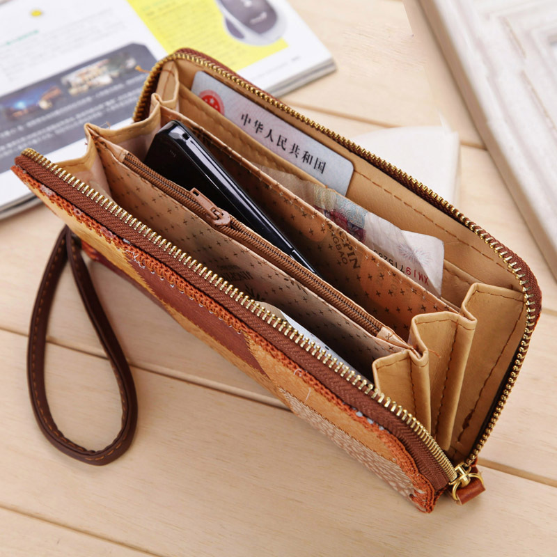 High quality famous brand bags women genuine leather wallet billeteras ladies wallet; purses free shipping ZL24<br><br>Aliexpress