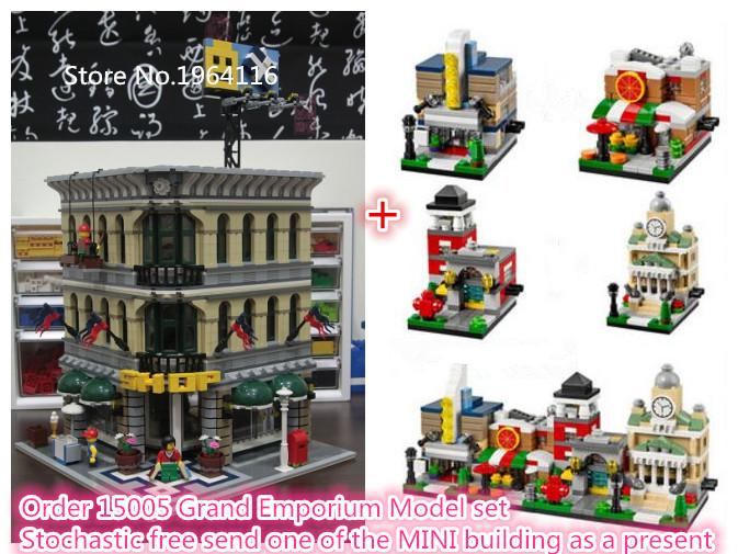 Maison lego promotion achetez des maison lego for Maison classique emporium