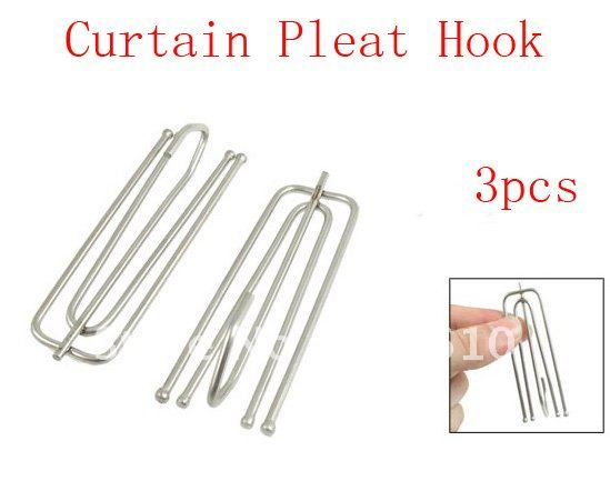 Pinch Pleat Curtains Hooks. Traverse Rods Are The Industry ...