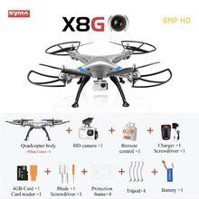100% Original 8MP 1080P SYMA X8G Upgrade RC quadcopter Drone Helicopter with camera