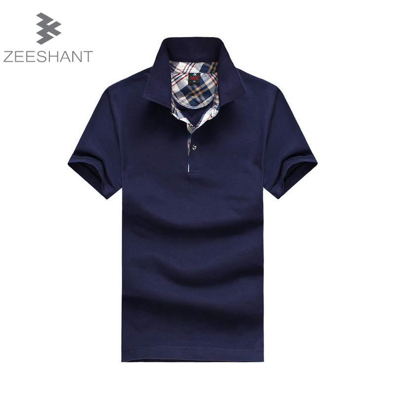 polo homme Brand Clothing Polo Shirt Solid Casual Polo Homme For Men Tee Shirt Tops High Quality Cotton Slim Fit Accpet Custom(China (Mainland))