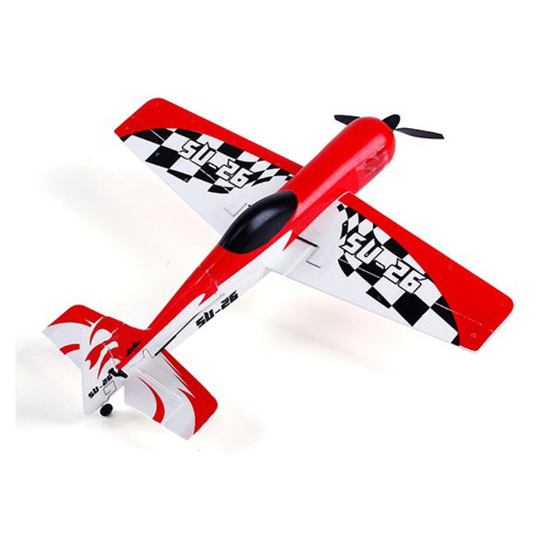 New WLtoys F929 Su-26 Rc Plane Su26 2.4G 4CH 6 Axis Micro RC Airplane RTF With 2pcs Battery Electronic Remote Control Toys(China (Mainland))