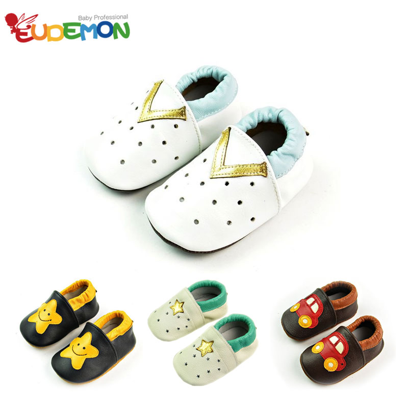 2016 New Design baby shoes Soft Skid first walkers for infant boys baby Genuine Leather moccasins child toddler girl shoes(China (Mainland))