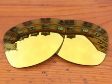 24K Golden Mirror Polarized Replacement Lenses For Dispatch 2 Sunglasses Frame 100% UVA & UVB Protection