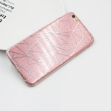 Buy Apple iPhone 6 6S plus 5 5S Phone Case iphone 7 7 plus Soft Gel TPU Back Cover Bling Glitter Shimmering Protective Shell for $2.19 in AliExpress store