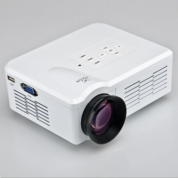 Led tv projectors portable led video tv beamer projector for Portable video projector