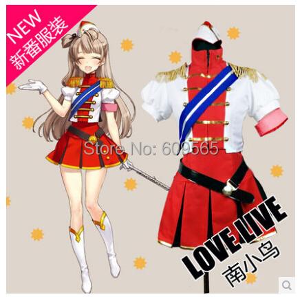 Free Shipping!2014!Love Live!Rin Hoshizora  Lovelive School Uniforms Shirts, skirts, gloves, belt, shoulder ribbon, shoes, hatsОдежда и ак�е��уары<br><br><br>Aliexpress