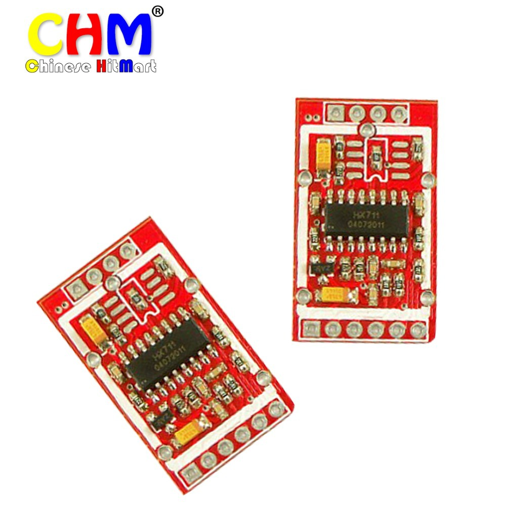 Brand new HX711 Weighing sensors for AD module force module dual channel 24 bit analog to digital conversion 10pcs/lot #F02172(China (Mainland))