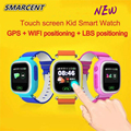 Q90 Kids Smart Watch GPS Tracker Touch Screen WIFI Baby Smart Watch Phone SOS Call Positioning