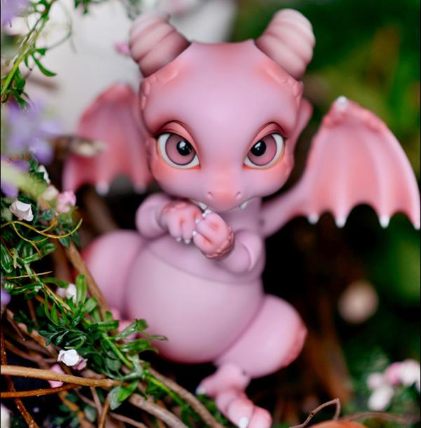 1/8 Bjd Sd Rot ( Ver.2 ) Aileen Doll Dinosaur Pink Dragons