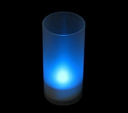 LED candle tea light with Frosted Cup charger instructios Change Battery Operated LED Candle FreeShipping(China (Mainland))