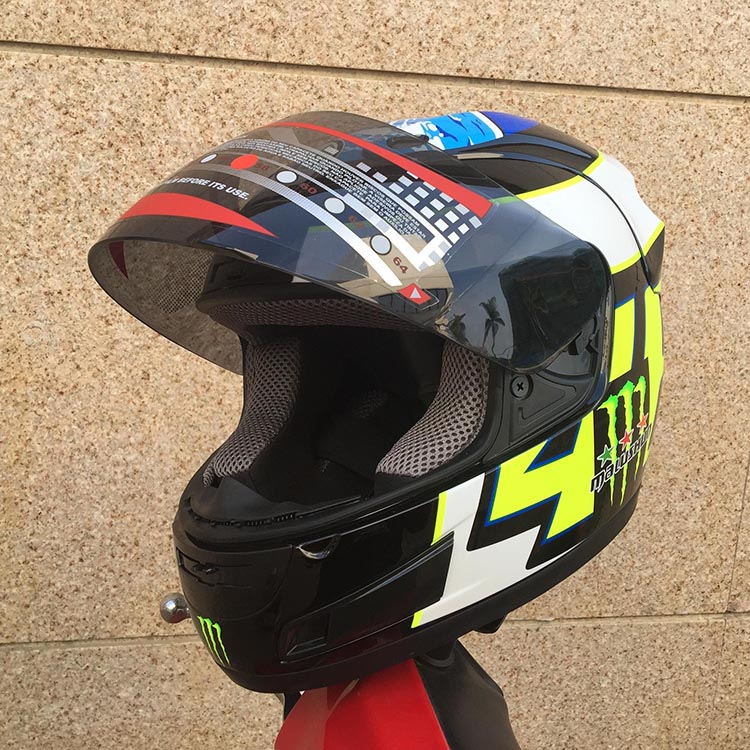 2016 New MALUSHUN ABS Motorcycle Helmet Women And Man Classic Full Face Helmet Motorcycle Safe Racing Helmet Imitate ARAI Helmet(China (Mainland))
