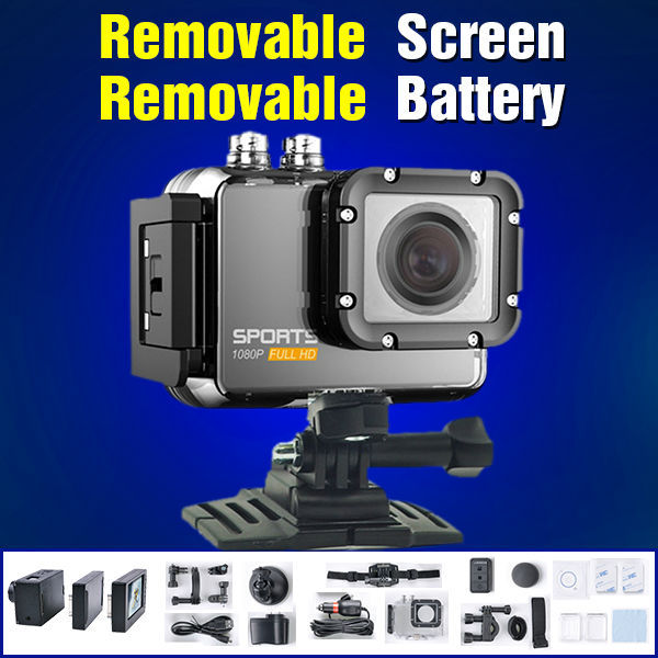Hot Sales! ishare S800W Go pro Hero 4 Style Action Camera 2.0 LCD Screen action cam 60M Waterproof With FHD1080P Video Camera(China (Mainland))