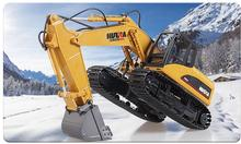 HuiNa Toys1550 15Channel 2.4G 1/12RC Metal Excavator Charging RC Car(China (Mainland))