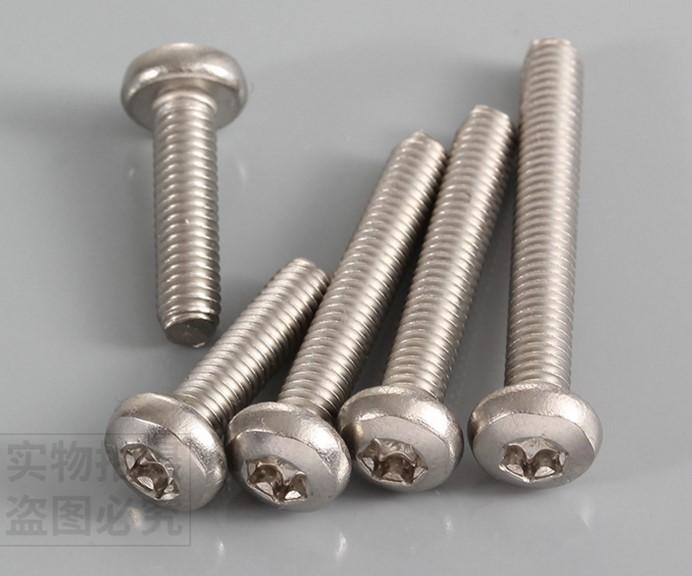 M3 M4 M5 Stainless Steel Flat Head Screws Kits High Strength Self Tapping Screws Assortment Set for Wood Furniture,M4X20MM 60PCS