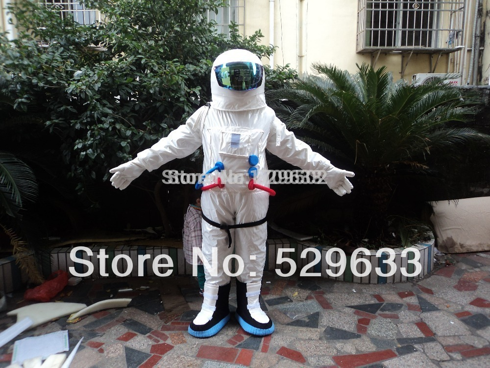 High Quality Space suit Adult plush mascot costume for festive & party supplies kigurumi disfraces fancy dress anime cosplay(China (Mainland))