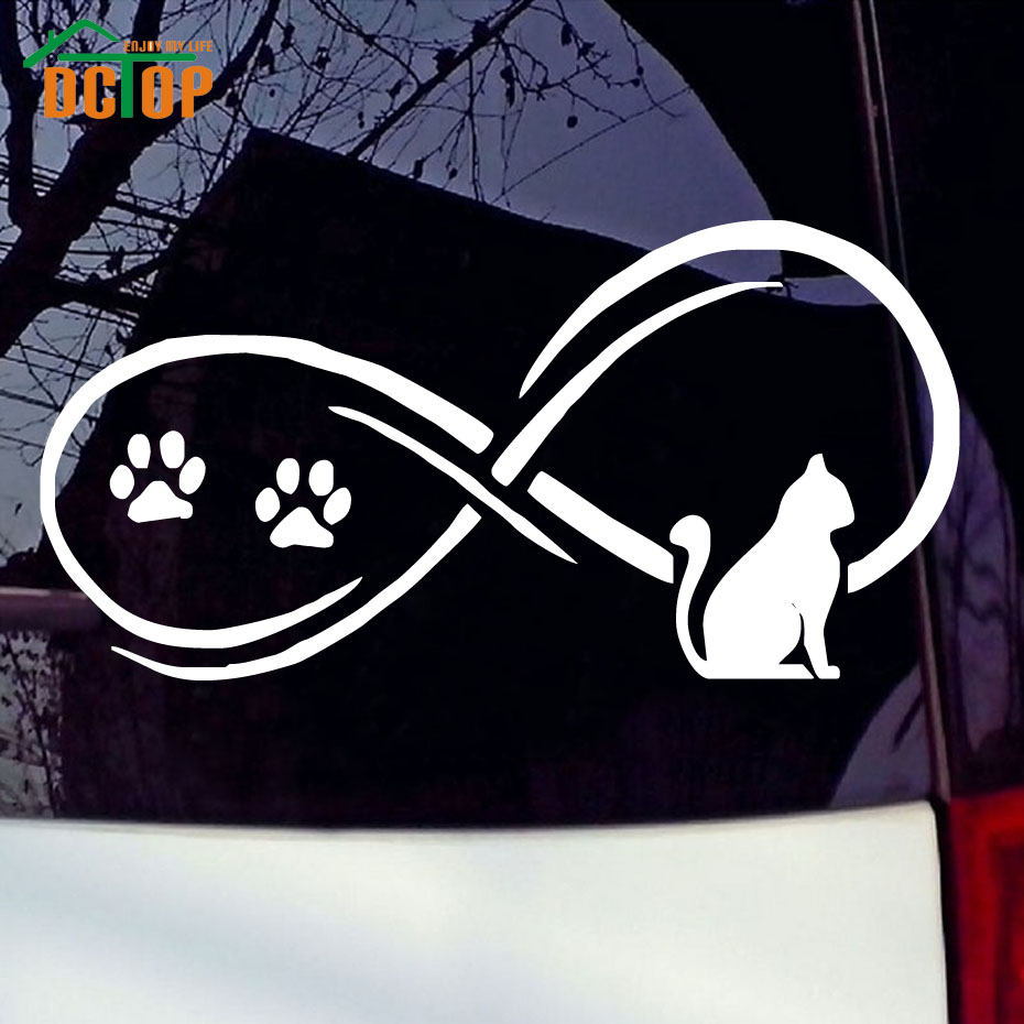 New car sticker design - A Resting Cat With Paws Car Sticker New Design Lovely Animal Tuck Window Decorative Decals Car