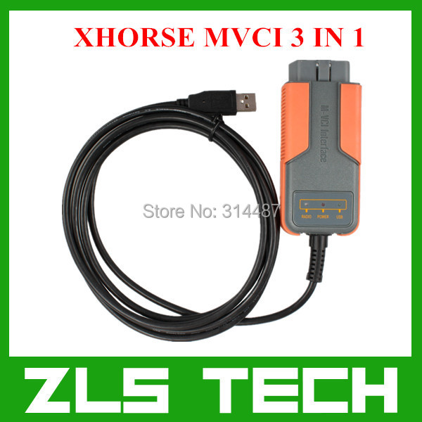 2015 Newest V10.00.028 XHORSE MVCI 3 IN 1 Highly Recommended Free Shipping(China (Mainland))
