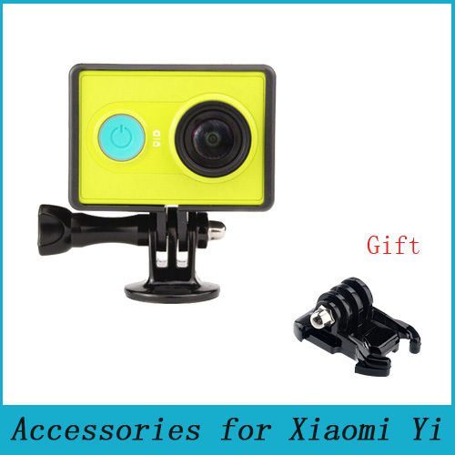 Xiaomi yi Accessories Border Frame Mount Protective Housing Case Cover For xiao yi / Xiaoyi Sport Action Camera(China (Mainland))