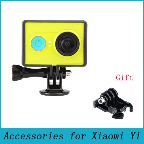 Xiaomi yi Accessories Border Frame Mount Protective Housing Case Cover For xiao yi / Xiaoyi Sport Action Camera(China (Mainland))