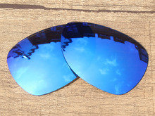 Ice Blue Mirror Polarized Replacement Lenses For Felon Sunglasses Frame 100% UVA & UVB Protection