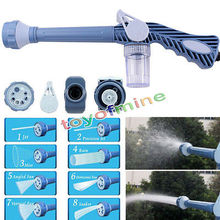 8in1 Multi Function Jet Water Soap Cannon Dispenser Nozzle Spray Gun Cleaning Spray Gun Hose connector(China (Mainland))