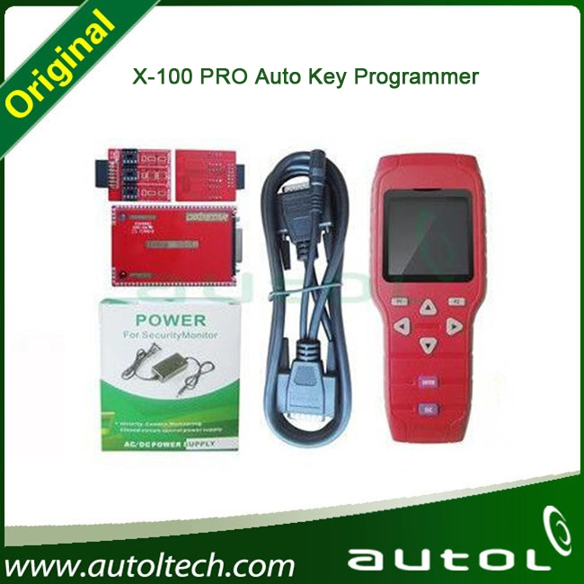 2015 Newest coming Top quality X100 Pro Key Programmer 100% Original X-100 Key Pro programming keys in immobilizer units(China (Mainland))