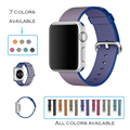 URVOI band for apple watch woven nylon strap fabric like feel wrist colorful pattern with classic