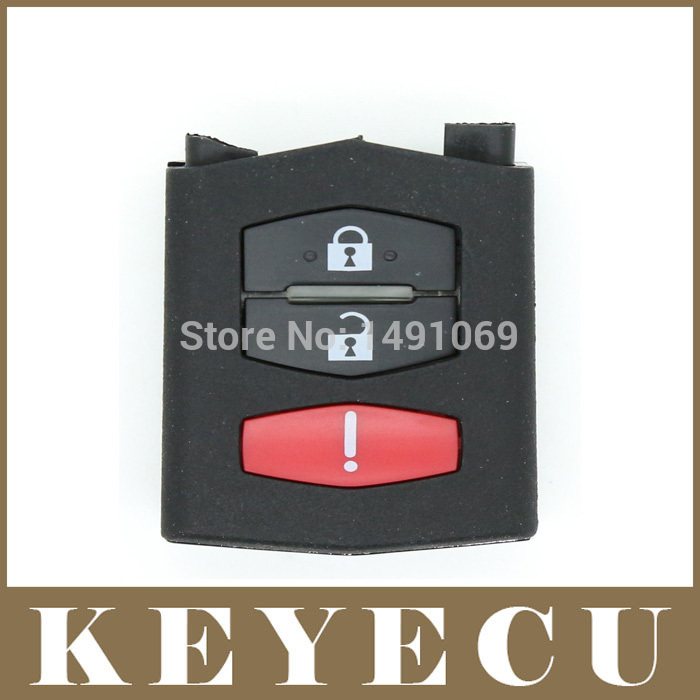 High Quality Replacement Shell Remote Key Case Fob 3 Button For Mazda 3 5 6 RX8 CX5 CX7 CX9(China (Mainland))