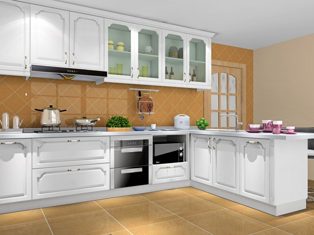 Modern Kitchen Designs With Hot Selling Model 8500 In Kitchen Cabinets From Home Improvement On