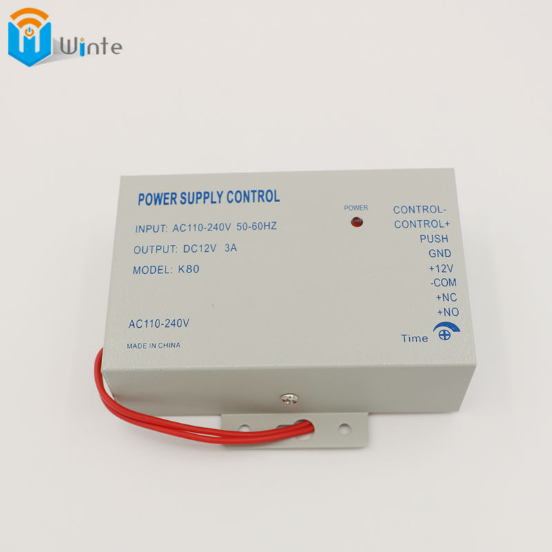 Power Supply Control Switch Door Access Control System DC 12V 3A / AC 110~240V High quality Access Control free shipping Winte(China (Mainland))