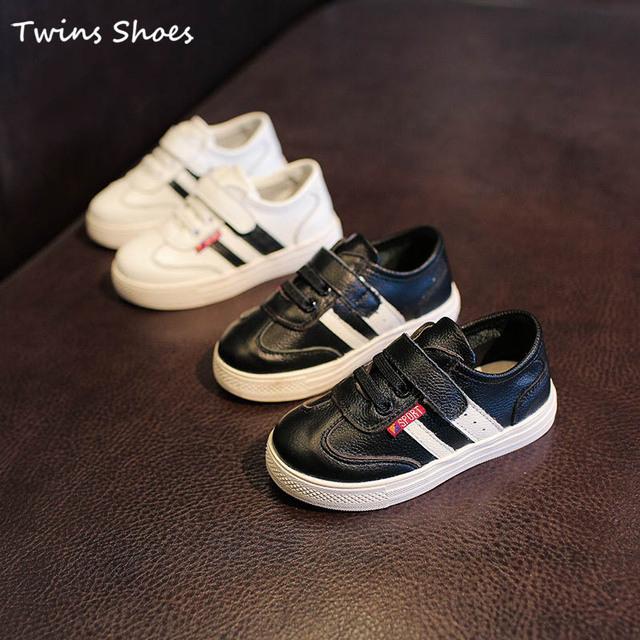 2016 весенние кроссовки детей из натуральной кожи кроссовки девушки мода обувь мальчиков ...