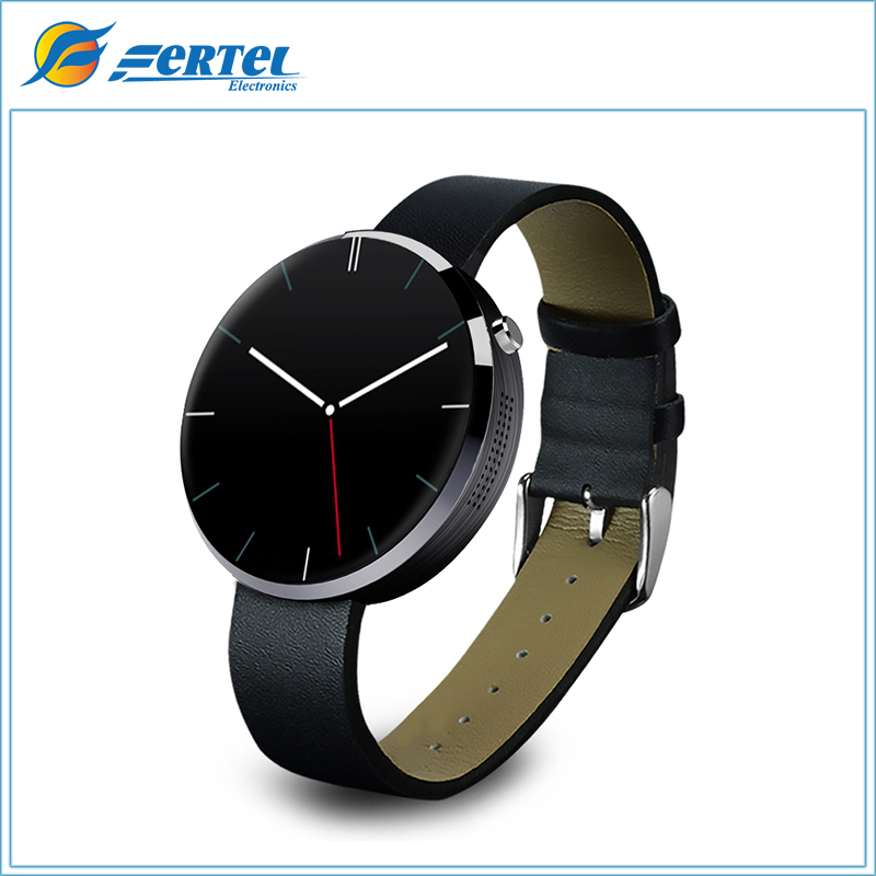 2016 New Smartwatch DM360 Smart Watch for IOS Andriod Mobile Phone with Heart Rate Monitor Bluetooth Wristwatch (Black)(China (Mainland))