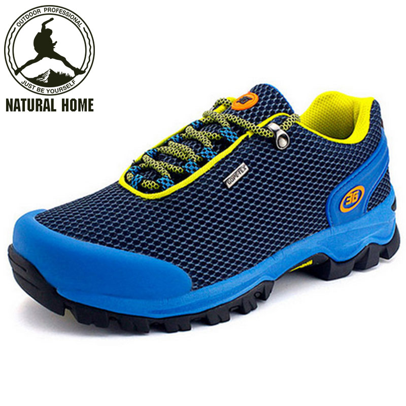 [NaturalHome] Brand Quality Fashion Breathable Men Outdoor Shoes Trekking Walking Climbling Camping Hiking Shoes Sports Boot(China (Mainland))