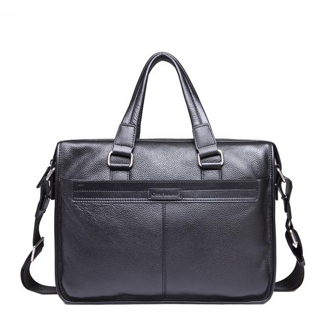 Bolsa De Ombro Masculina Couro : Aliexpress compre nova moda couro bolsa de