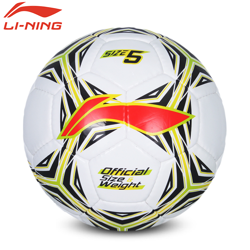 High Quality Lining AFQK059/511 Standard Soccer Ball Training Balls Football Official Size 5 High Quality PU Soccer Ball(China (Mainland))