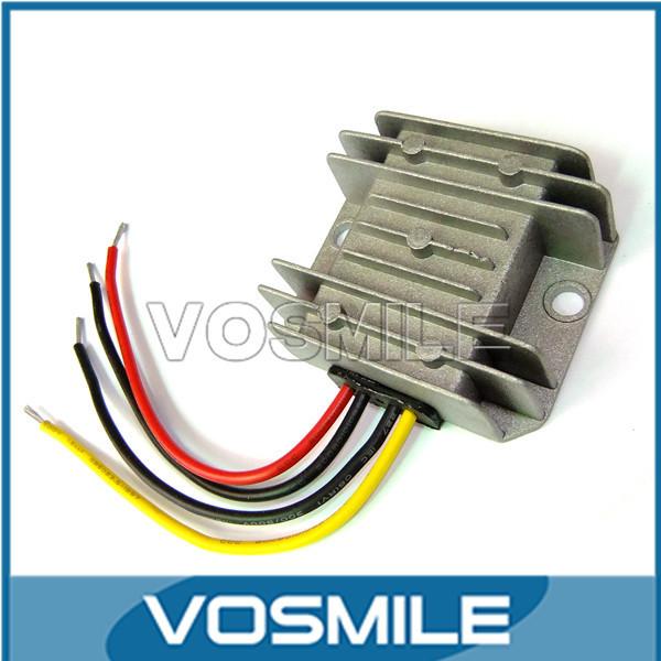 20 PCS/LOT 12V/24V to 5V  DC/DC Car Step Down Converter 10A 50W Buck Module Car LED Aluminum Alloy Shell Buck Module #200586<br><br>Aliexpress