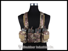 EMERSON EASY Chest Rig Vest Airsoft Painball Military Army Combat Gear EM7450E kryptek Highlander(China (Mainland))