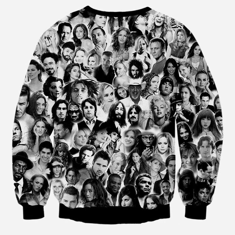Menwomen 3d sweatshirts new designed Surprised Frankenstein hoodies funny print animals dog lion tops pullover sport tracksuits (24)