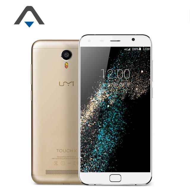 "Original UMI Touch X 4G LTE Mobile Phone 5.5"" 1920x1080P MT6735A Quad-Core RAM 2GB ROM 16GB 8.0MP Android 6.0 Phone 4000mAh GPS"