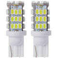2pcs T10 12V 42 SMD 1210 Car LED Bulbs Reverse White Lights RV Trailer rear lights