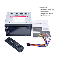 Buy LESHP 2-Din Car CD Player Automatic Memory Play Car DVD Player Professional 6.2 Inch 6201A Audio DVD SB / SD Bluetooth for $86.91 in AliExpress store