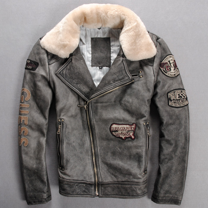Flight Jacket Leather - Jacket