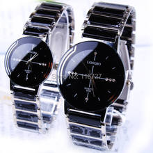 Buy Hot Selling Classic quartz lovers watch ceramic watch waterproof gift Woman watch 2016 new LONGBO Men luxury Brand Wristwatches for $6.99 in AliExpress store