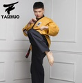 cotten and bamboo fibe material adult and children Taekwondo clothes