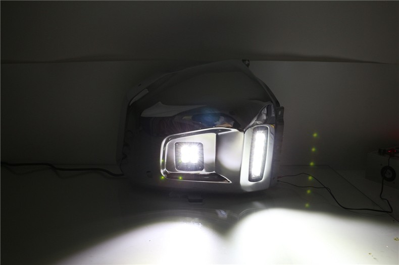 A&T car styling For Toyota Tundra LED DRL For Tundra led fog lamps daytime running light High brightness guide LED DRL