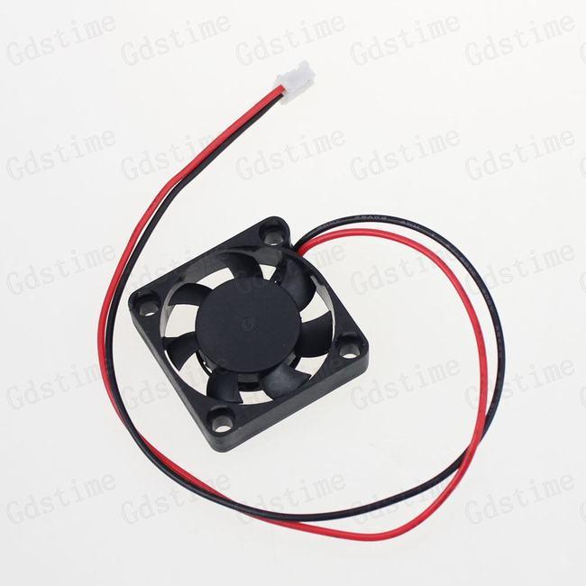 Купить Компьютер & сеть  5 Pieces Lot 2pin DC 12v 30x30x7mm 30mm 3CM Small Brushless Cooling Cooler Fan None