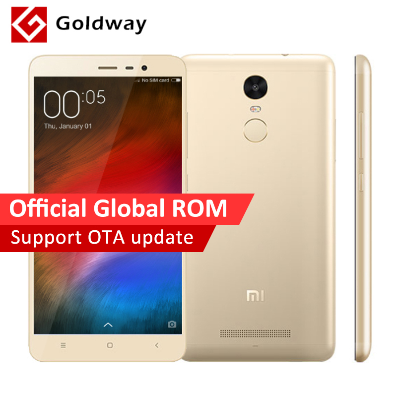 "Original Xiaomi Redmi Note 3 Pro Prime 32GB ROM Official Global Firmware Mobile Phone Snapdragon 650 5.5"" 1920x1080 3GB RAM 16MP(Hong Kong)"