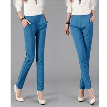 2014 Women Casual Pants Ladies Candy Color Slim Pencil Pants Womens Trousers Skinny Pants XE3213#M2(China (Mainland))